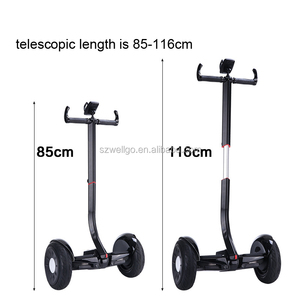 2 wheels Hoverboard electric scooter parts alloy extended handlebar for  Nine bot Mini pro