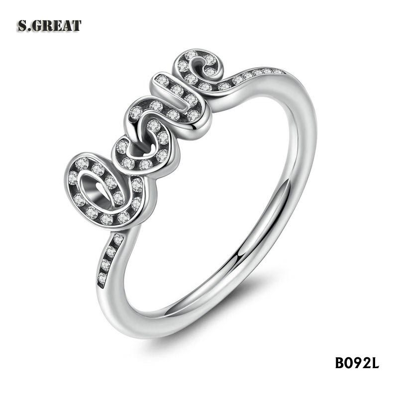 wholesale new 925 sterling silver rings jewelry wedding rings for ladies fit pandora enamel rings silver