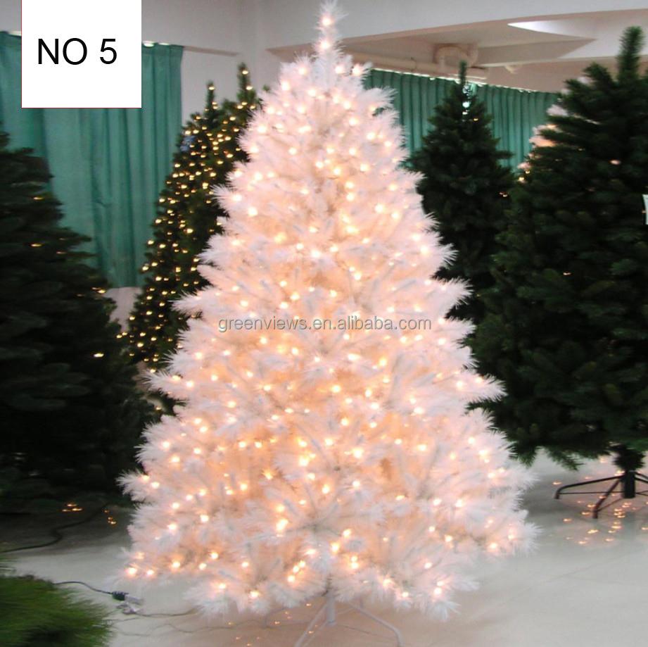Gambar Pohon Natal Putih