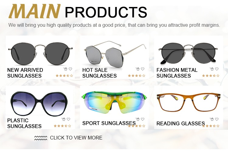 c1669ddb5a2c Professional manufacture cheap new style 2019 fashion sunglasses
