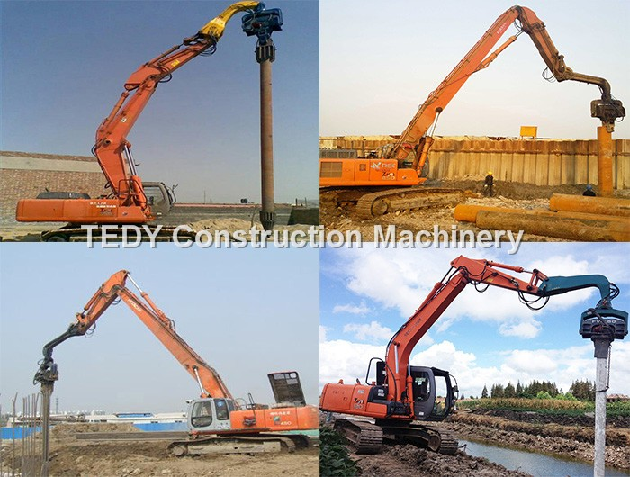 Hydraulic Mini Excavator Concrete Pile Driver Hammer Machine For 20-30 Tons  Excavator Sale - Buy Pile Driver,Excavator Pile Driver,Mini Excavator Pile