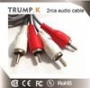 Good Service Gold Plated 6ft Cable Vga Rca Cable For Tv/hdtv Monitor Projector