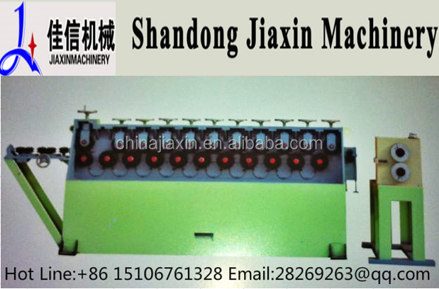 Multi-function Automatic reinforcing steel wire bar straightenning and cutting machine