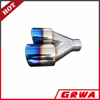GRWA high quality SS304 dual Exhaust Tip