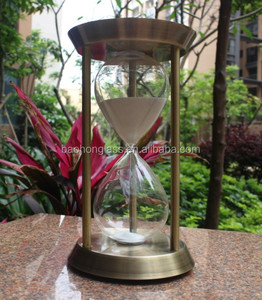 Best price 30minute large brass sand clock for meeting