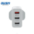 chinese oem factory supply mobile phone charger with qc 3.0 usb port