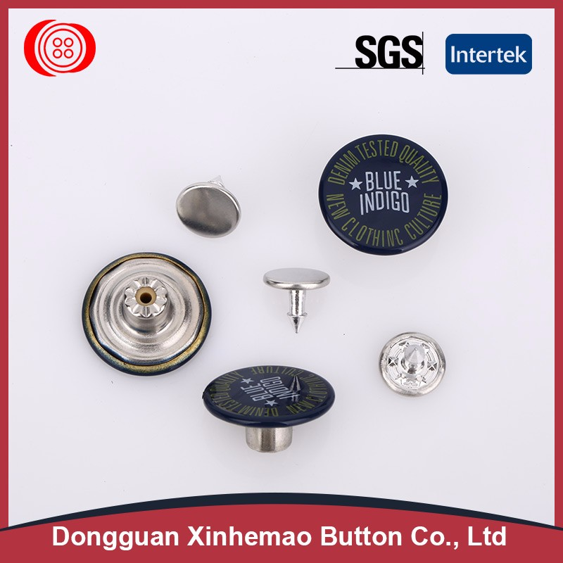 Factory wholesale custom metal jeans buttons and rivets