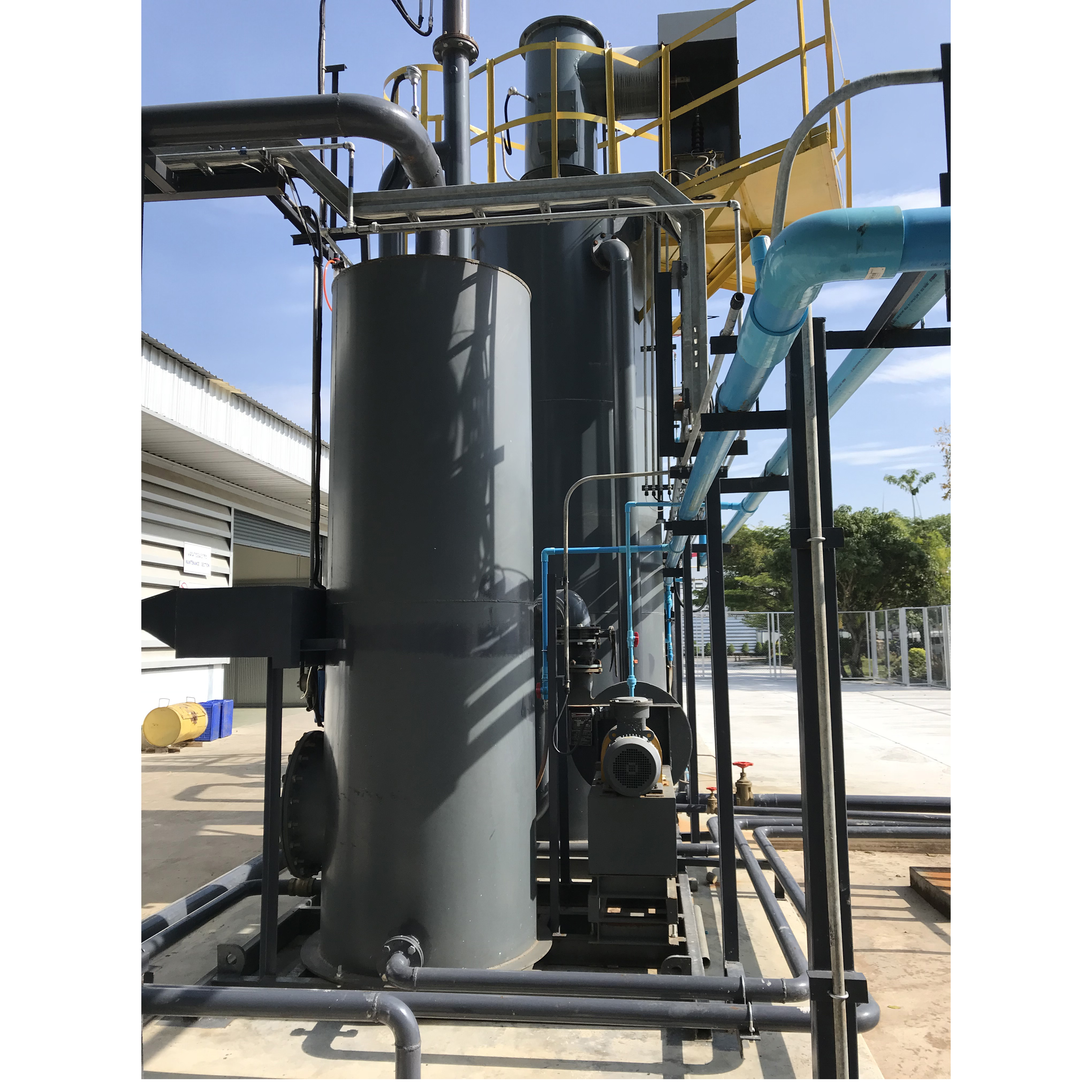 cow dung gasifier power generation system