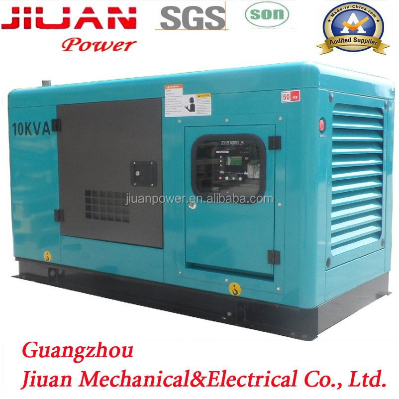 diesel silent electric power generator guangzhou 10kva small wind generator for home use