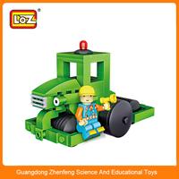 LOZ MIN Building Block Diecast Travis Tractor Toy Car for children