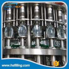 Automatic Glass Bottle Hot Filling Machine Washing Filling Capping 3 in 1