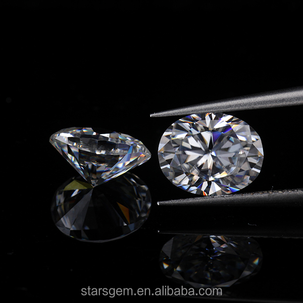 factory price 7*9mm EF white lab creat diamond jewely loose gemstone forever one moissanite oval 1.5carat