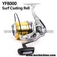 Size 8000 surf casting fishing reel