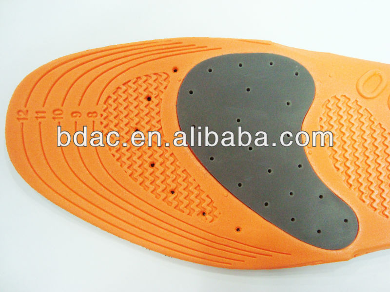 extra heel cushion thermal foam shoe insole eva insole