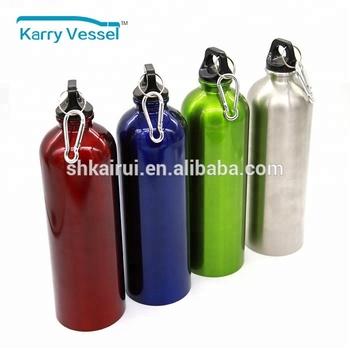 1リットルパーソナライズスポーツステンレス鋼金属水ボトル ...