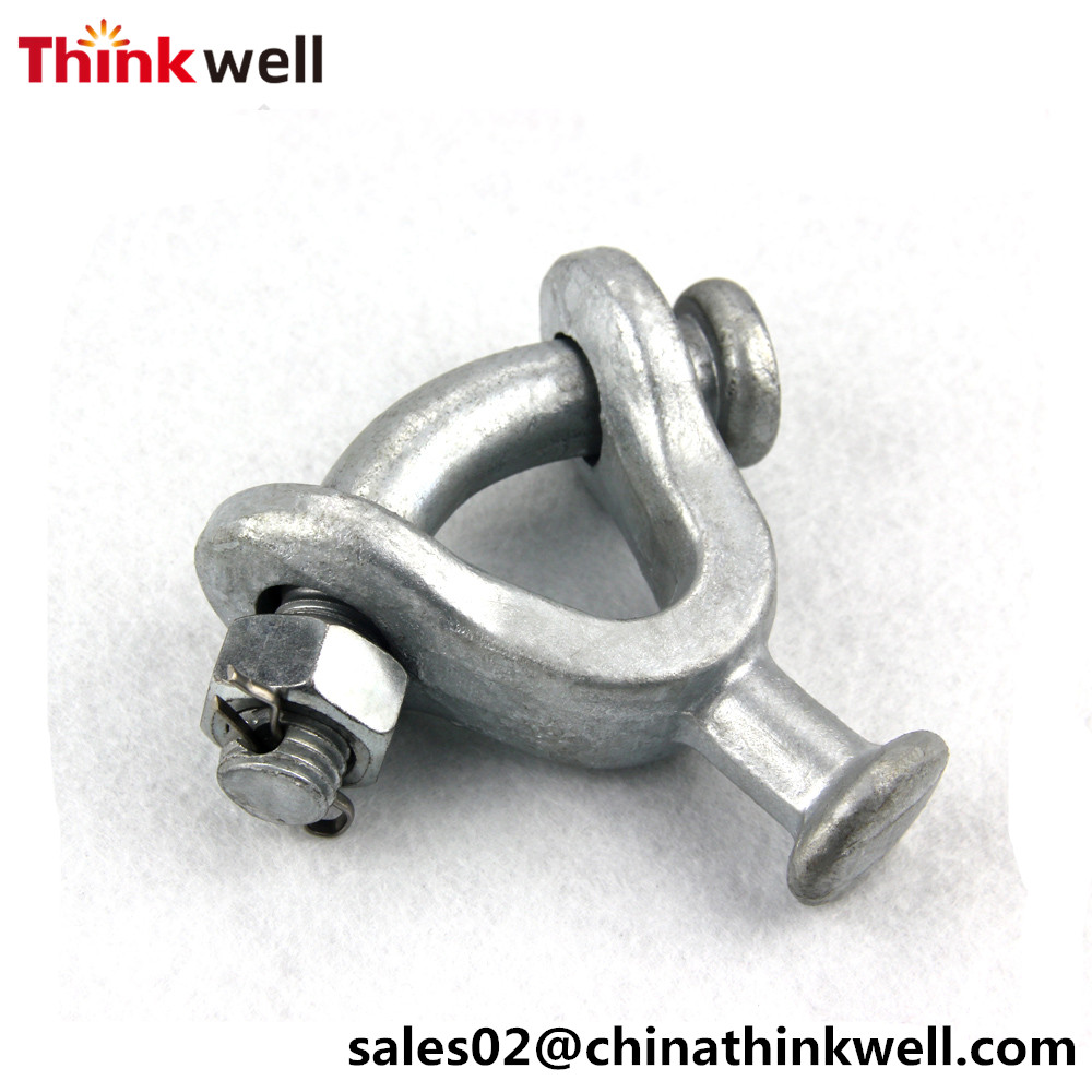 Pole Line Hardware Link Fitting Adaptor U Type Ball Clevis