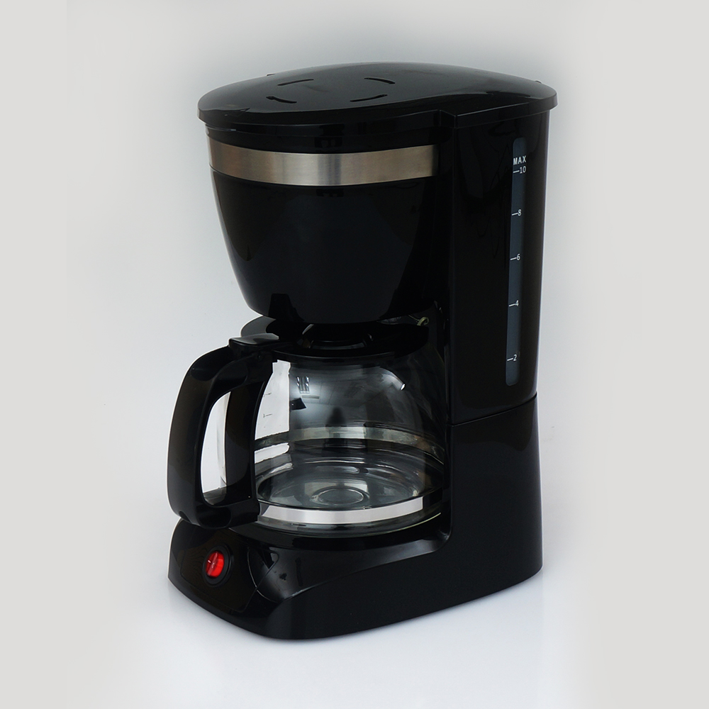 Symay warm keeping plate 1.25L professional 12 cup drip coffee maker