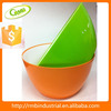 plastic bowl ound plastic cover reusable fruit salad bowl High quality plastic bowl,large cereal bowl, colorful jumbo bowl