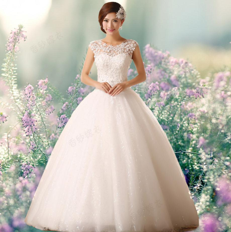 Wedding Gowns For 2015: Free Shipping 2015 New Arrival Bridal Wedding Dress