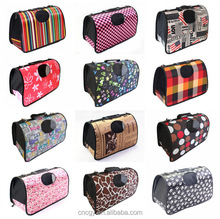 Fashional foldable dog carrier bag, pet plastic carrier bags,pet carrier with single-strap