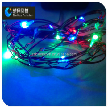 10m 100leds Rgb Teardrop Christmas Lights Led String Light - Buy ...