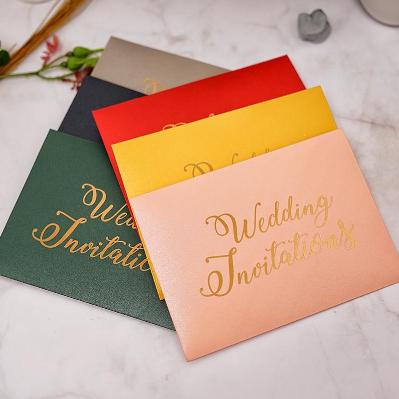 High quality cheap price luxury laser cut unique wedding invitations