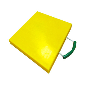crane foot support plate / hdpe plastic jack pads / mobile crane outrigger pad