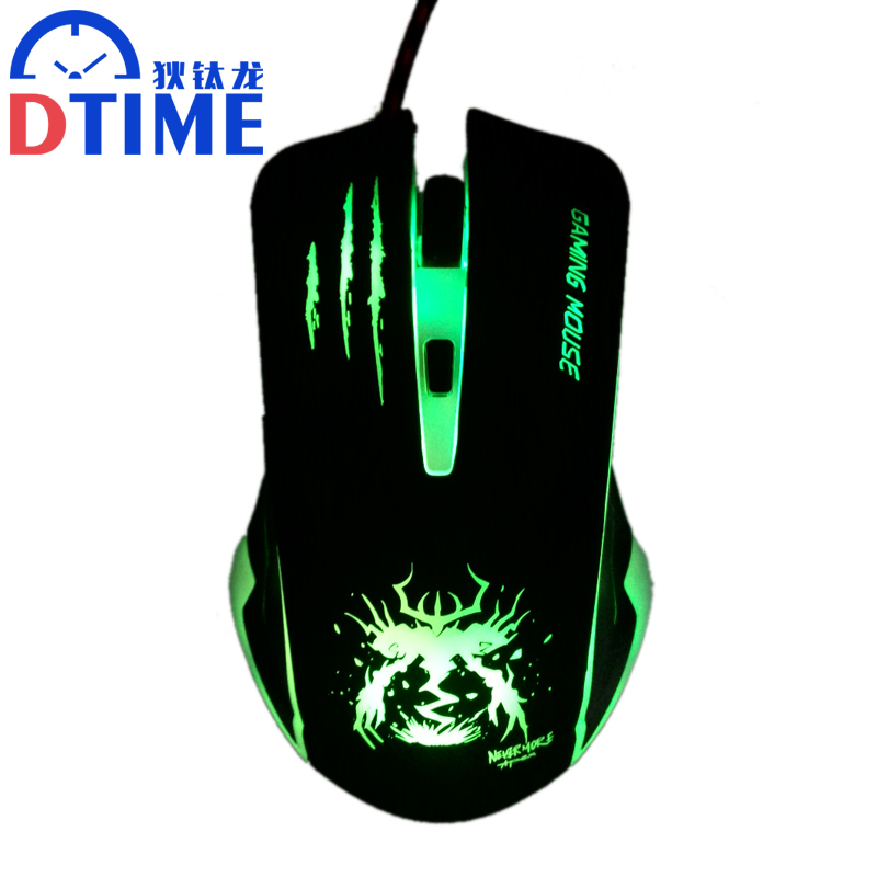 USB optical laptop computer PC Wired gaming mouse for gamer