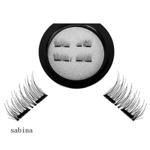 Double magnet false eyelash. Quickly paste traceless