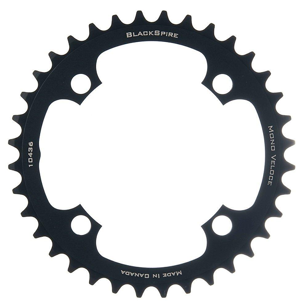 BlackSpire Mono Veloce Chainring 33t x 104 bcd, Single