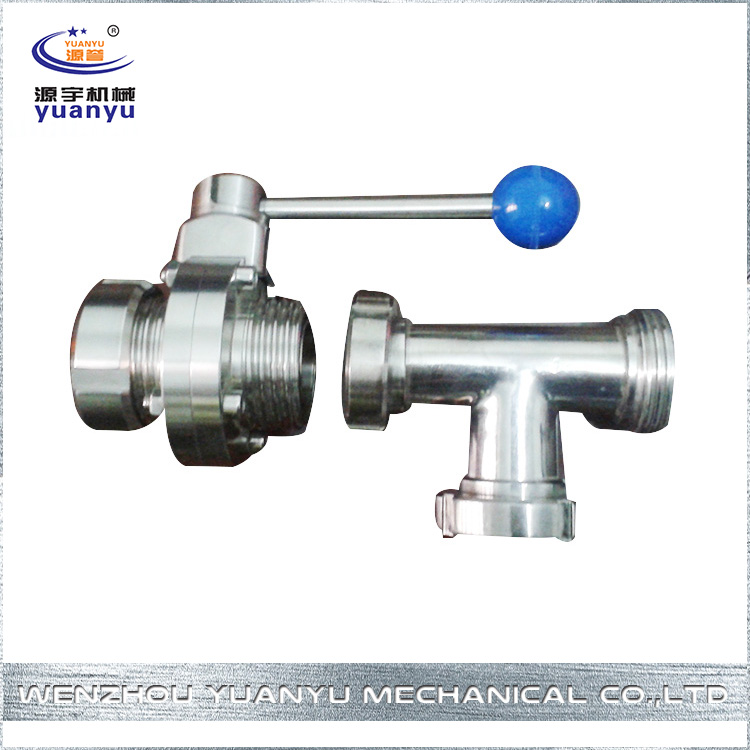 Soft Sealed Cheap Top Quality Remote Control Sanitary Butterfly Valve