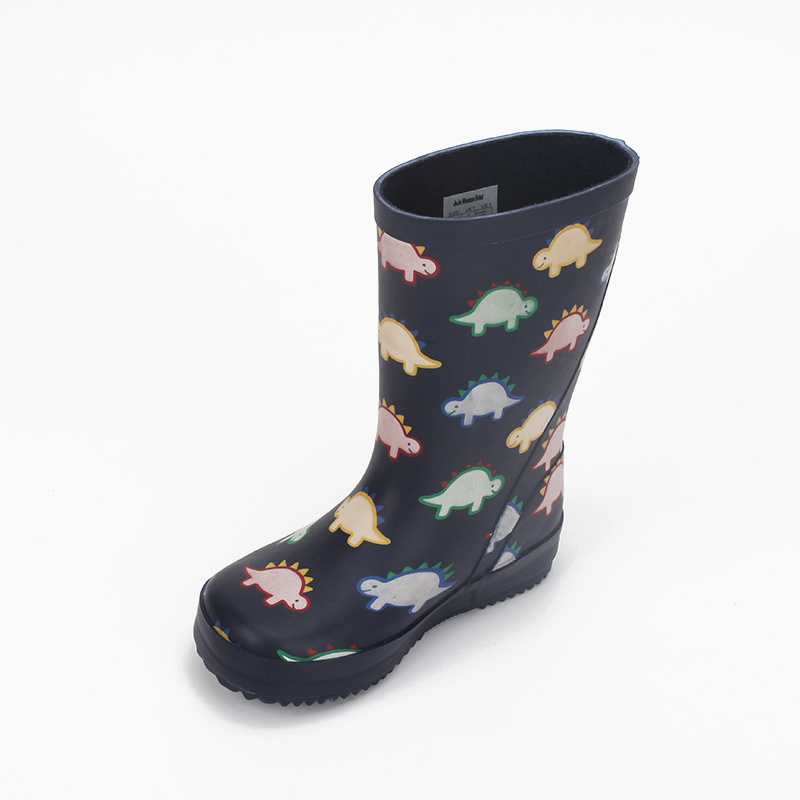 Design Your Own Boots Kids Rubber Wellies Gumboots Printed Waterproof Shoes