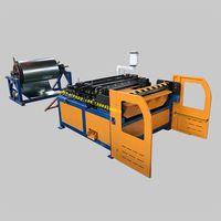 Hvac Square Rectangular Air Tube Pipe Duct Line Forming Making Machine