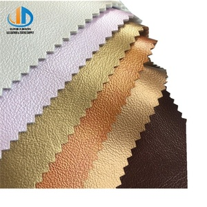 Good quality pearly lustre face breathing thick PU faux leather for car seat sofa