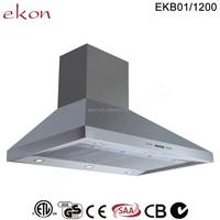 304 Stainless Steel 1200mm commercial kitchen range hood