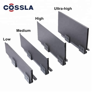 Cossla Slim Double Wall Drawer Kitchen Cabinets Tandem Drawer Box