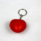 Lucky Craft PU foam 40mm soft stress reliver toys shape anti stress heart keychain