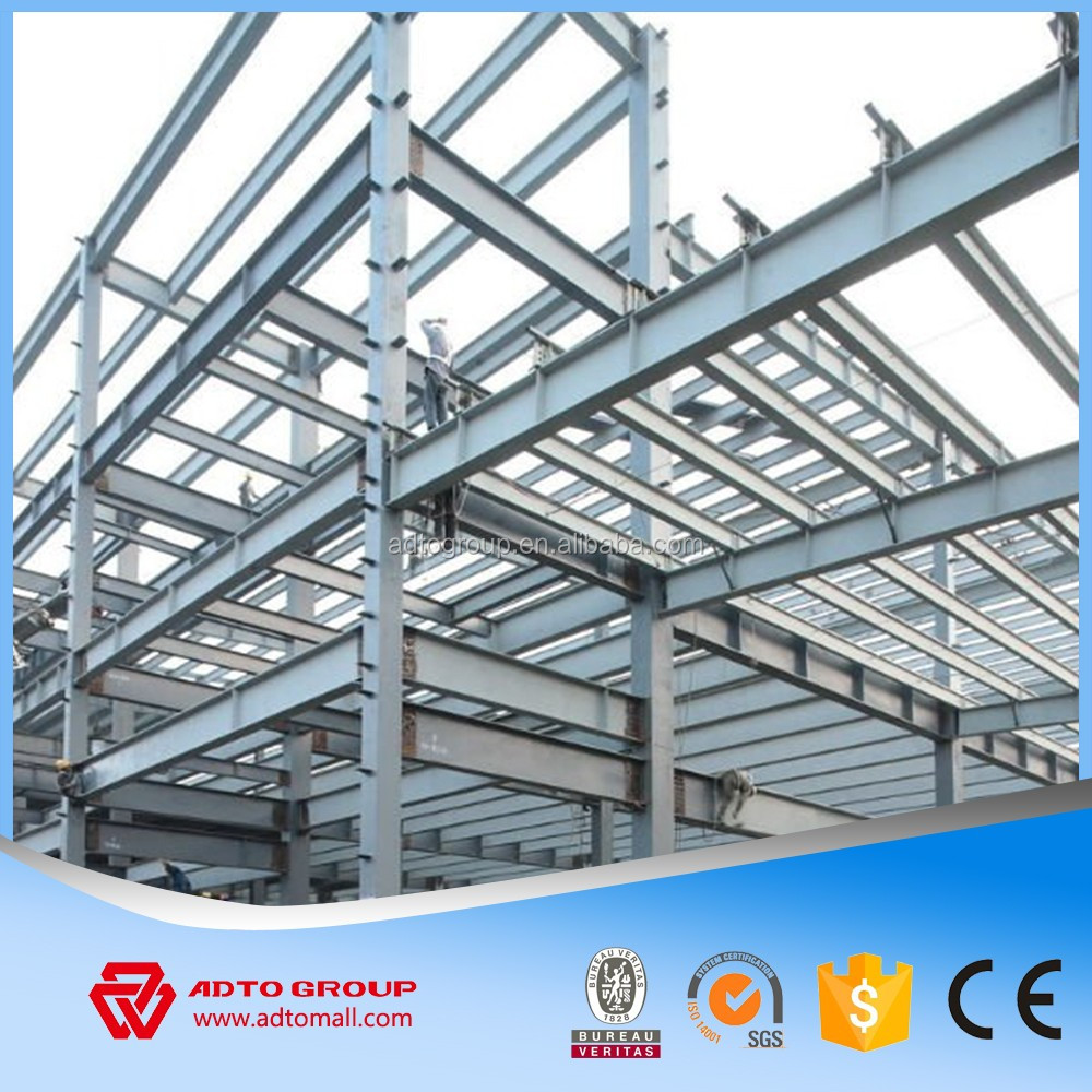 Adto Group Steel Framing Fabrication Roof Truss Design Painted Structural  Steel Work Prefab House Plan With High Quality - Buy Roof Truss Design