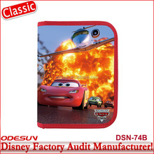Disney Universal NBCU FAMA BSCI GSV Carrefour Factory Audit Manufacturer Student Gift Car Lightning Stationery Set
