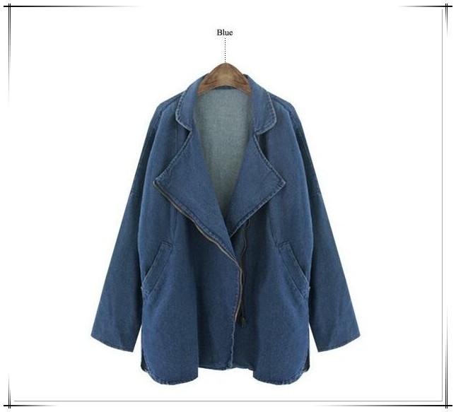 2016Fashion Women Jean jacket cheap price Blue Colour
