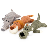 Plush Squeaker Dog Chew Play Pet Toy Sets