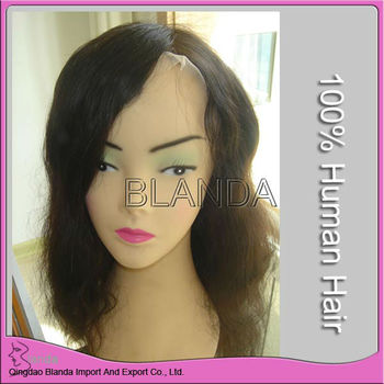 "14""natural peruvian hair full swiss lace wig alibaba fr"