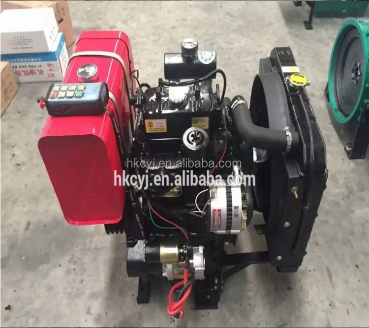 2018 Wholesale 35hp 38hp 2 Cylinder Small Diesel Engine ZH2110P