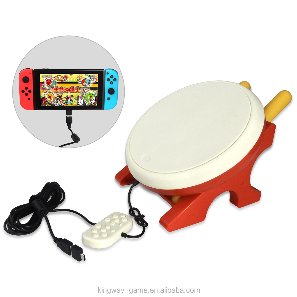 2018 NEW! Wired TNS 1876 Taiko no Tatsujin NS Drum for nintendo switch