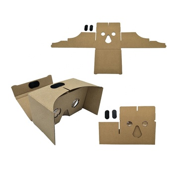 DIY virtual reality 3D google cardboard VR glasses for 3d movies and games, View google glasses android, SURFWIN Product Details from Cangnan Surfwin