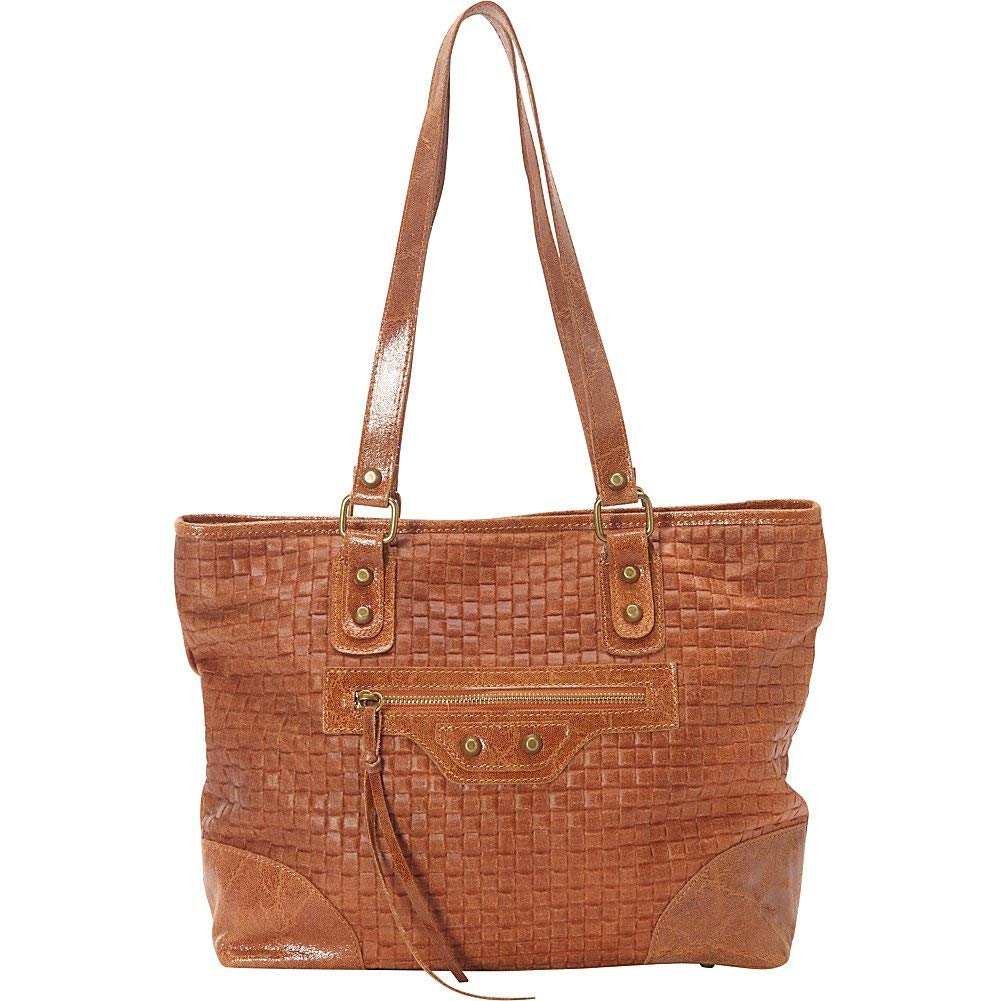 69b51c4d8888 Get Quotations · Sharo Leather Bags Woven Italian Leather Tote