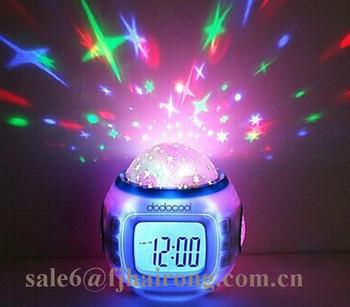2017 Kerstcadeau Sky Star Nachtlampje Projector Klok Slaapkamer ...