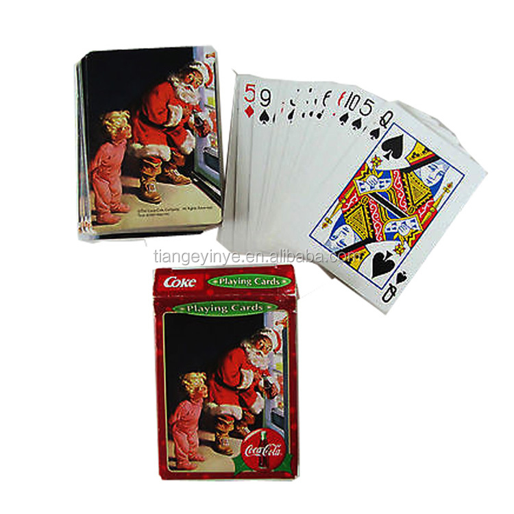 Christmas theme Paper Playing Card Customized Playing Card