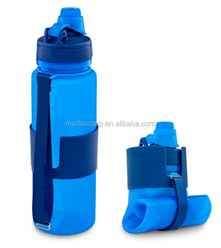 766aab7b2d ... silicone travel sports camping · whole bpa free foldable water bottles  collapsible water bottle foldable drinking bottle ...