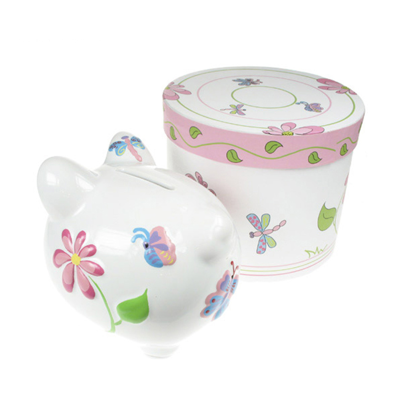 Beautiful Butterfly Kids Gift First Piggy Bank